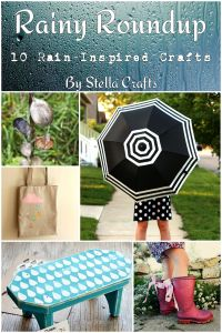 Rainy Roundup - 10 Rain-Inspired Crafts - By Stella Crafts